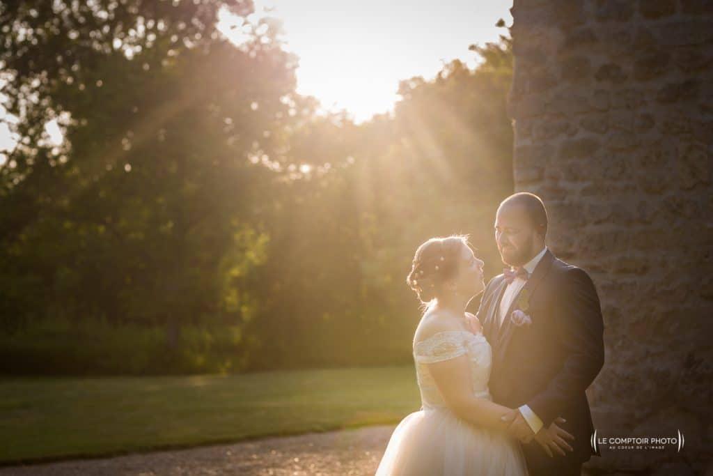 Mariage-Ferme La Biza - Missy sur aisne - lieu reception-Photographe mariage oise beauvais compiègne - Le Comptoir Photo-photo seance couple-émotion-coucher de soleil-504