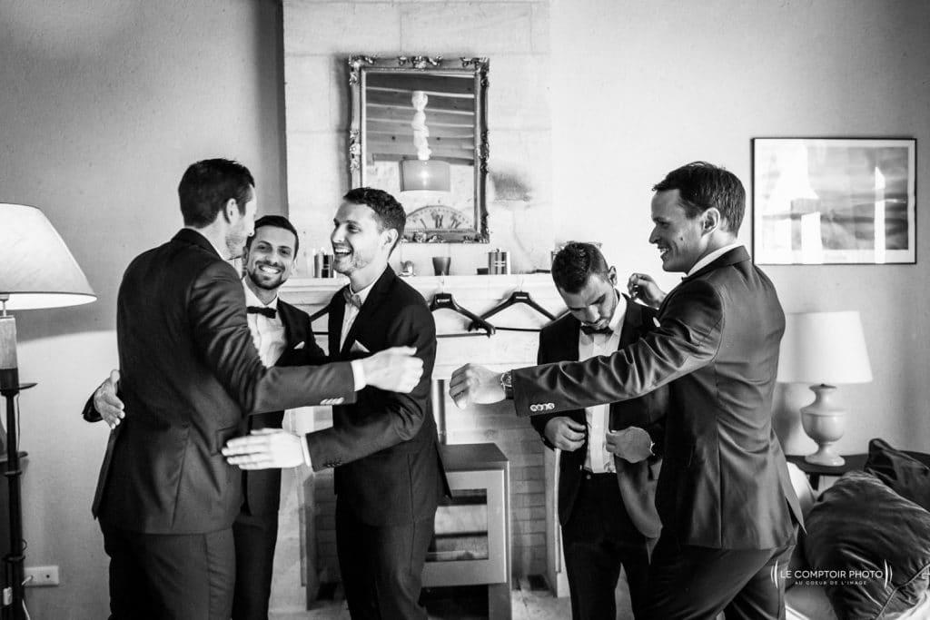 Mariage- Chateau Lardier - Ruch - Photographe mariage oise beauvais - Aquitaine - Gironde -Bordeaux - Libourne - Le Comptoir Photo-marié-garcons d'honneur-émotion-naturel-rire-134