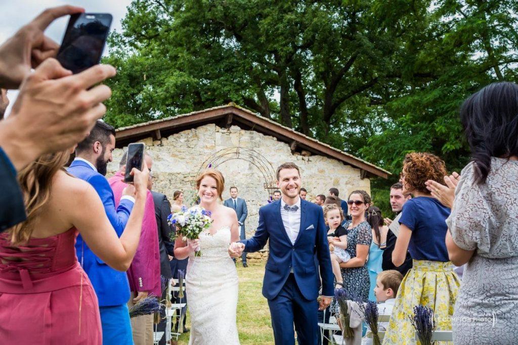 Mariage- Chateau Lardier - Ruch - Photographe mariage oise beauvais - Aquitaine - Gironde -Bordeaux - Libourne - Le Comptoir Photo-photo sortie-cérémonie laïque-émotion-naturel-rire-333