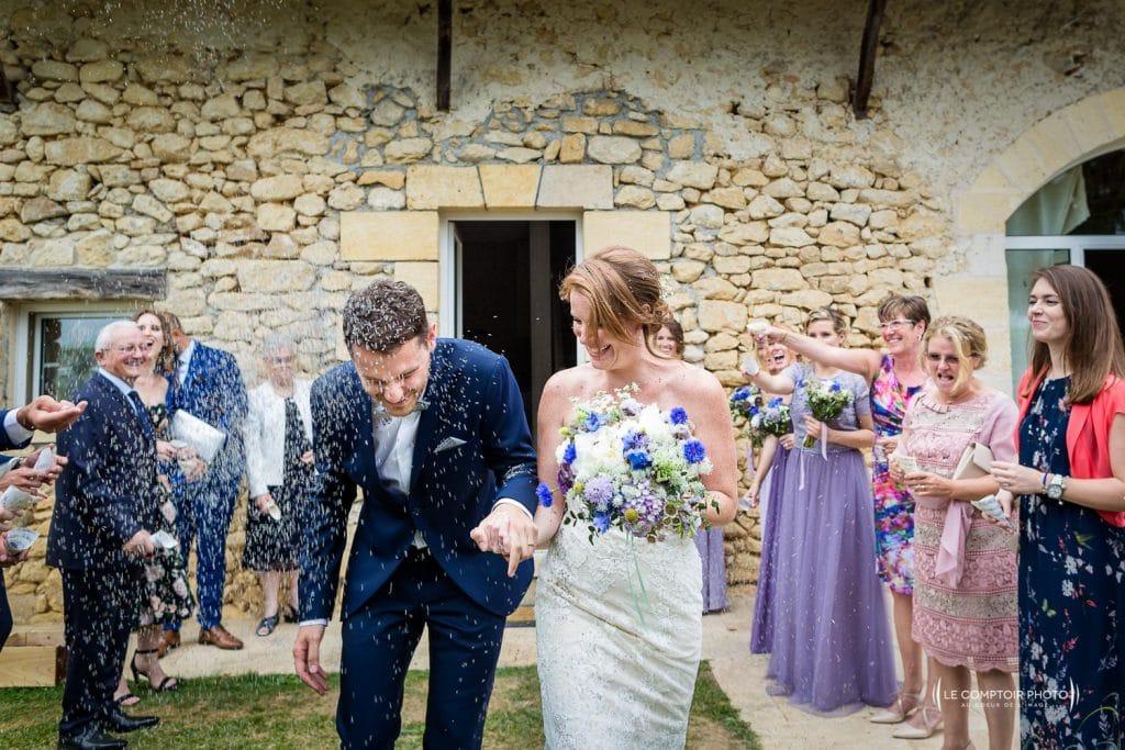 Mariage- Chateau Lardier - Ruch - Photographe mariage oise beauvais - Aquitaine - Gironde -Bordeaux - Libourne - Le Comptoir Photo-photo sortie-cérémonie laïque-émotion-naturel-rire-347