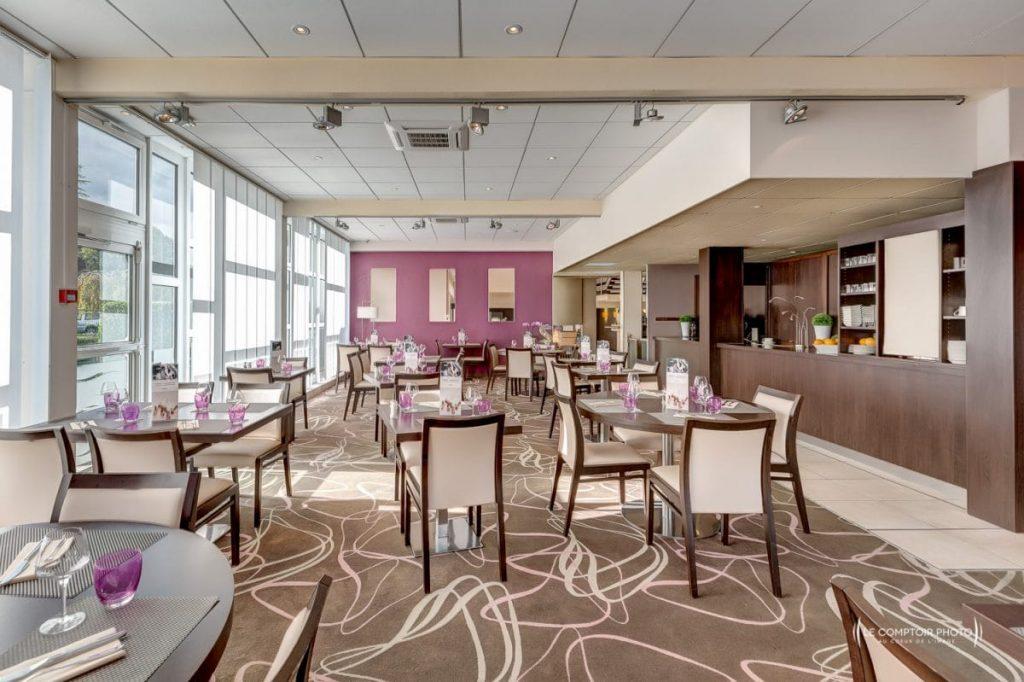 """alt=""""salle restaurant d'hôtel Mercure_Le Comptoir Photo Beauvais"""""""