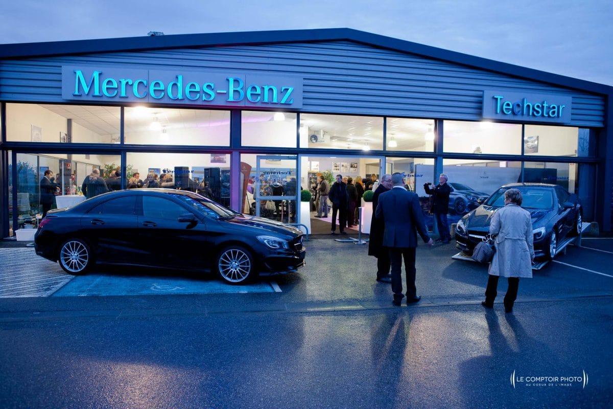 """alt= """"photographe corporate entreprises - Corporate - Evenement - Mercedes_inauguration-voiture_Amiens_Somme_Le-Comptoir-Photo_Beauvais-Picardie-Hauts de france"""""""