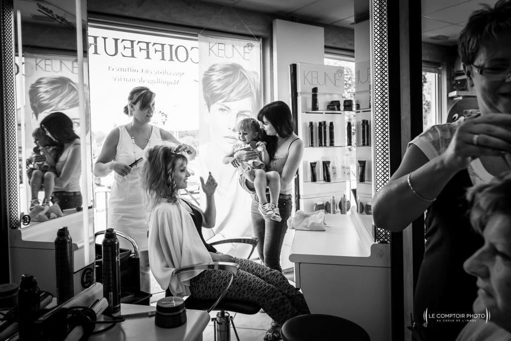 Mariage-saint leu d'esserent-Senlis-Chantilly-photographe mariage-oise-beauvais-compiegne-émotion-naturel-Le Comptoir Photo-préparatifs coiffure-1