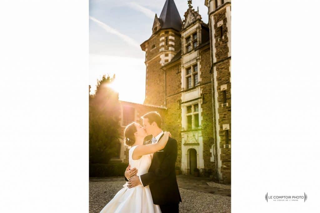 """alt=""""séance couple mariage-couché de soleil-Photographe oise mariage-photographe mariage oise -Mariage-Saint Sauveur de Landermont_Le Comptoir Photo-35"""