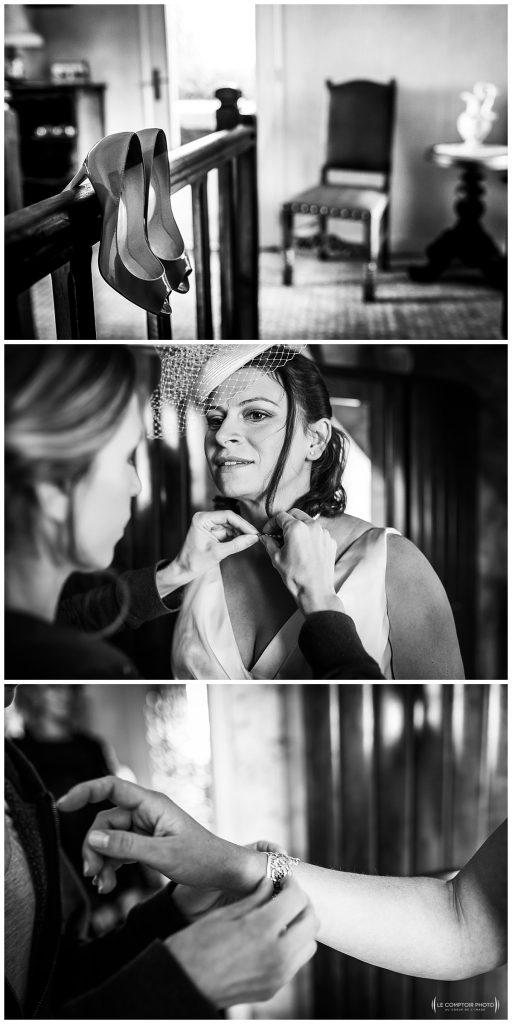 preparatifs de la mariée à moimont, Beauvais