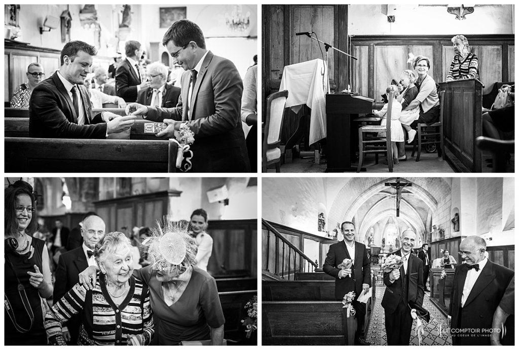 reportage photo mariage église