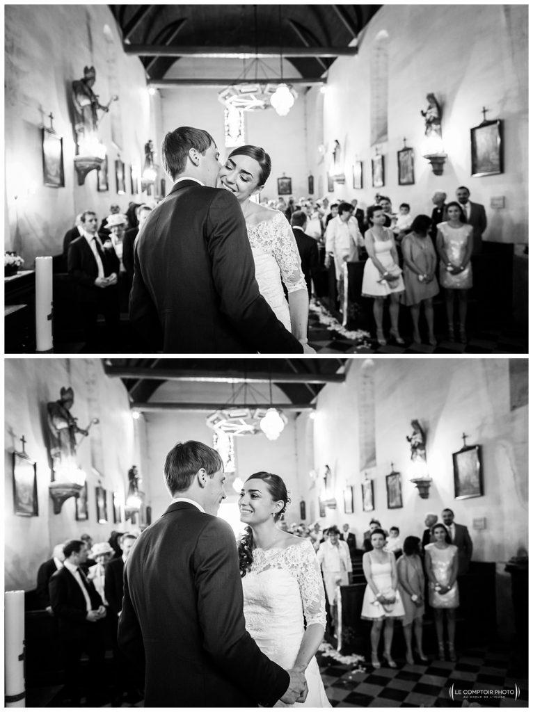 Photographe oise -château des saules- photographe mariage oise arrivée de la mariée église Hondainville-Le Comptoir Photo-photographe oise mariage