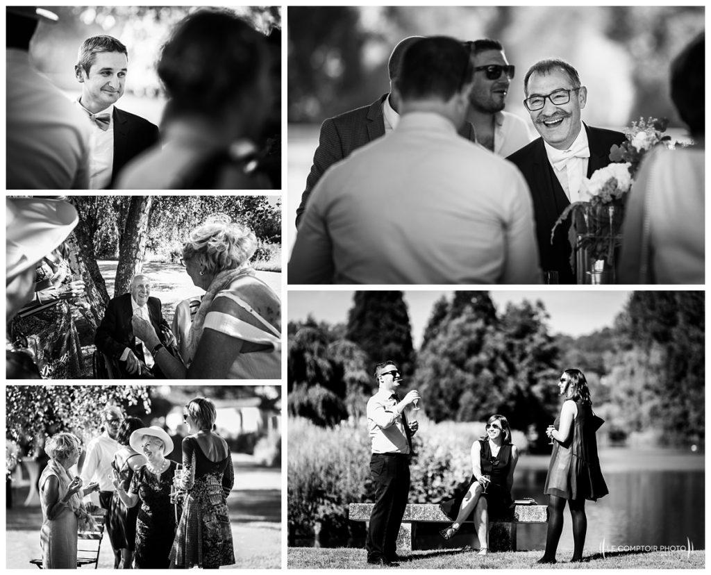 photo des invités-photo sur le vif-chateau des saules_Ansacq_Le Comptoir Photo- Photographe oise mariage