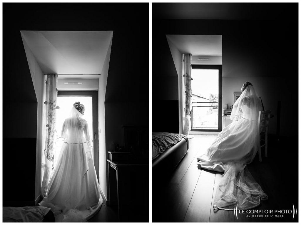 fin des préparatifs de la mariée attente chez ses parents à choisy au bac proche compiegne