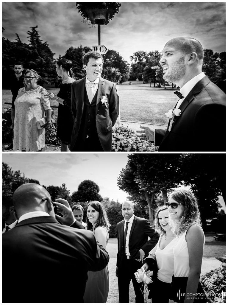 accueil des invités_mairie_choisy au bac_Le Comptoir Photo_Photographe mariage oise_Beauvais