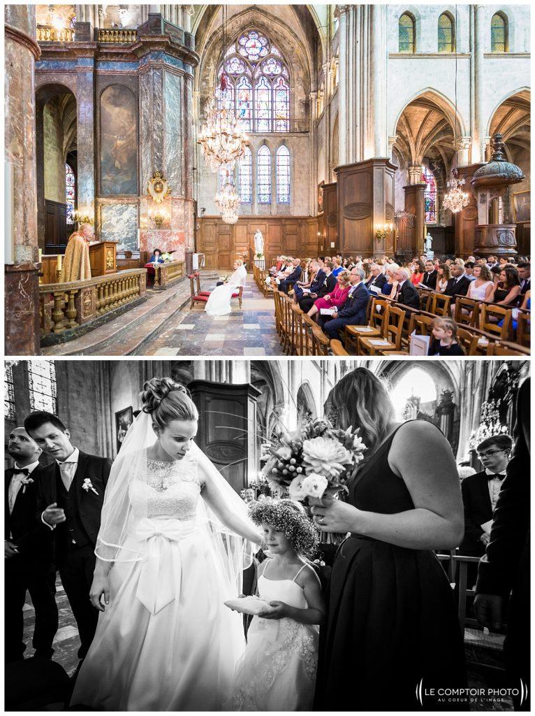 photo sur le vif_mariés_invitées_église_compiègne_-Château Vic-sur-Aisne-Le Comptoir Photo-Photographe mariage oise-beauvais-Picardie-Hauts de france