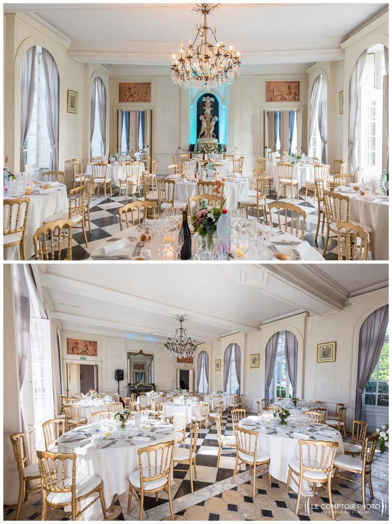 salle de réception_chateau de vic sur aisne_vic sur aisne_Le Comptoir Photo_Photographe mariage oise_Beauvais