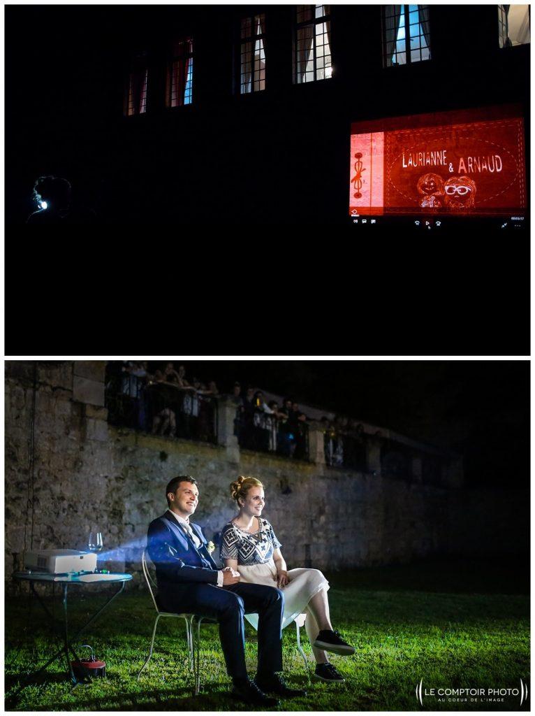 soirée_diaporama_photos sur le vif_chateau de vic sur aisne_vic sur aisne_Le Comptoir Photo_Photographe mariage oise_Beauvais-picardie-hauts de france