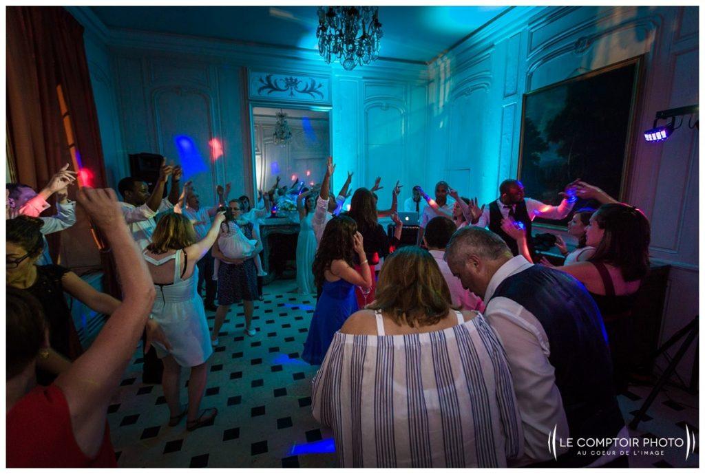 soirée_danse_invités_familles_amis_photos sur le vif_chateau de vic sur aisne_vic sur aisne_Le Comptoir Photo_Photographe mariage oise_Beauvais-picardie-hauts de france