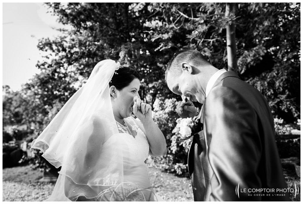 Découverte des mariés-pleurs des mariés-Mariage-Abbaye de royaumont_Asnieres sur oise-Le Comptoir Photo_Photographe mariage oise_Beauvais