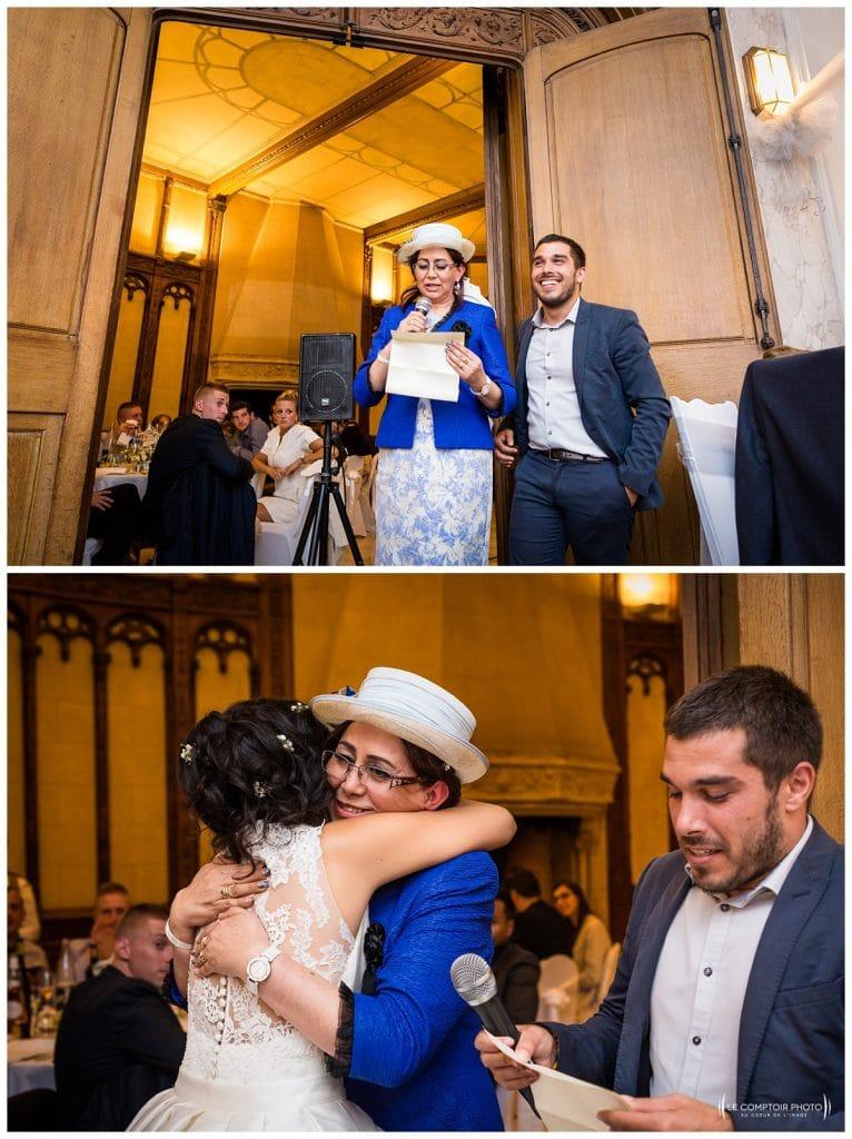 discours de la maman - traduite par un des proches de la famille - Mariage-Carolina-Fabien-Manoir-de-Chantilly_Gouvieux_Photographe-mariage-Oise_photographe-oise_Le-Comptoir-Photo