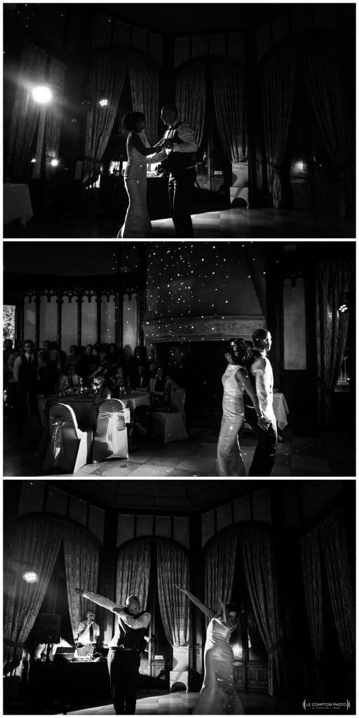 première danse devant leurs invités - Mariage-Carolina-Fabien-Manoir-de-Chantilly_Gouvieux_Photographe-mariage-Oise_photographe-oise_Le-Comptoir-Photo