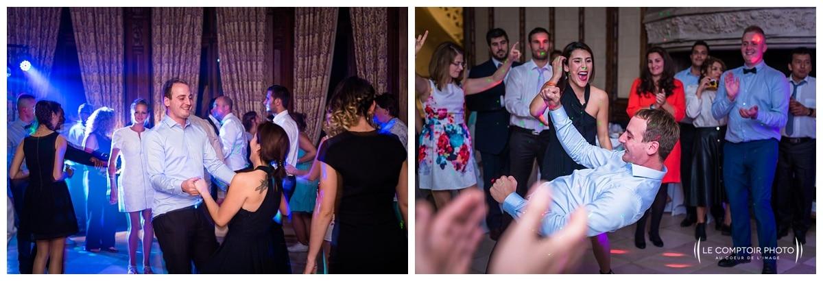 danse des invités - festif