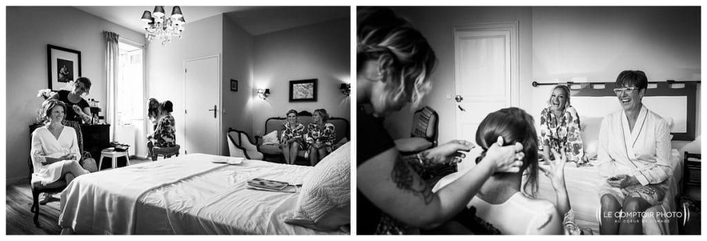 Mariage-Chateau Lardier-Ruch-Photographe mariage bordeaux-aquitaine-gironde-dordogne-libourne-bergerac-franco-canadien-americain-Le Comptoir Photo_Photographe mariage France Oise- préparatifs de la mariée - moment en famille et amies