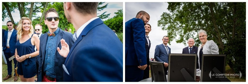 Mariage-Chateau Lardier-Ruch-Photographe mariage bordeaux-aquitaine-gironde-dordogne-libourne-bergerac-franco-canadien-americain-Le Comptoir Photo_Photographe mariage France Oise - photos invités - discussion