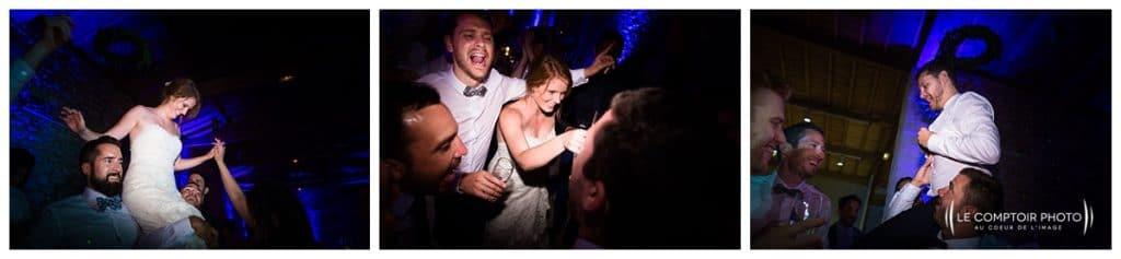 Mariage-Chateau Lardier-Ruch-Photographe mariage bordeaux-aquitaine-gironde-dordogne-libourne-bergerac-franco-canadien-americain-Le Comptoir Photo_Photographe mariage France Oise - danse avec les mariés et invités