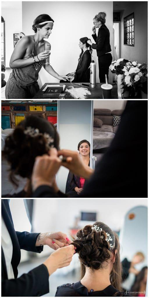 Reportage photo mariage à la Grange des Mollières dans les Yvelines-Photographe mariage Ile-de-France-paris-Oise-Le Comptoir Photo-coiffure