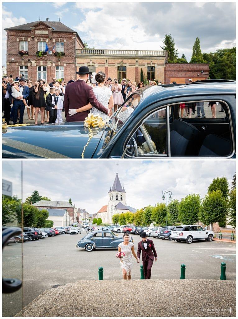 Reportage photo mariage à la Grange des Mollières dans les Yvelines-Photographe mariage Ile-de-France-paris-Oise-Le Comptoir Photo-mairie-invités-sainte geneviève