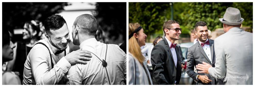 Reportage photo mariage à la Grange des Mollières dans les Yvelines-Photographe mariage Ile-de-France-paris-Oise-Le Comptoir Photo-photos invités naturelles-émotion-rire