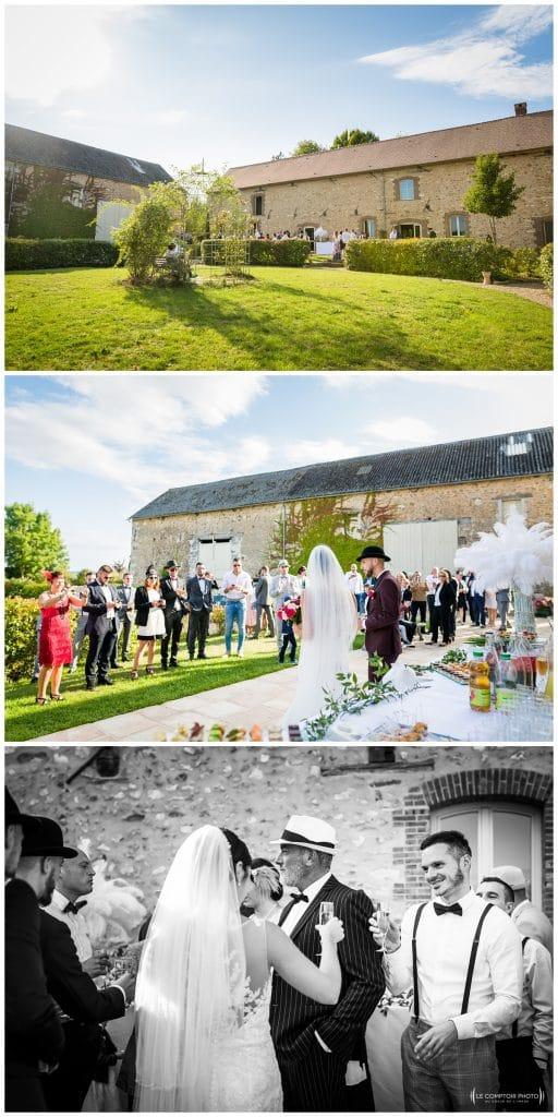 Reportage photo mariage à la Grange des Mollières dans les Yvelines-Photographe mariage Ile-de-France-paris-Oise-Le Comptoir Photo-lieu de réception