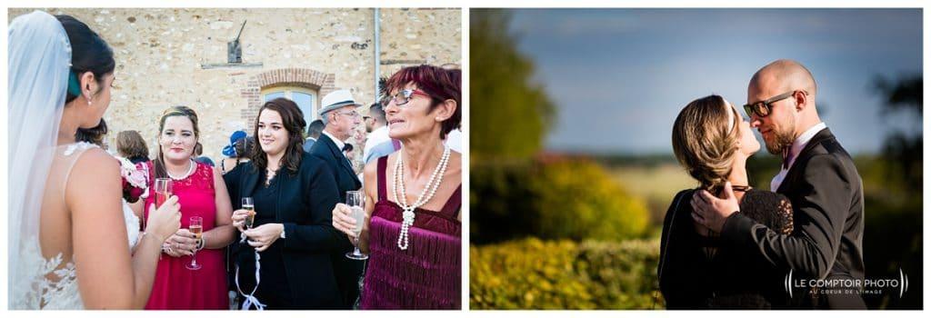 Reportage photo mariage à la Grange des Mollières dans les Yvelines-Photographe mariage Ile-de-France-paris-Oise-Le Comptoir Photo-instant naturel