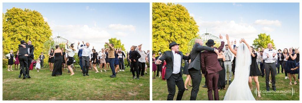 Reportage photo mariage à la Grange des Mollières dans les Yvelines-Photographe mariage Ile-de-France-paris-Oise-Le Comptoir Photo-flashmob