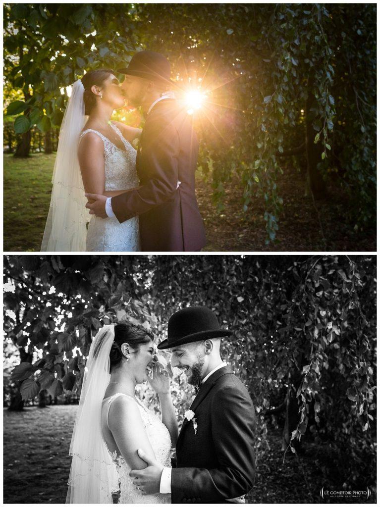 Reportage photo mariage à la Grange des Mollières dans les Yvelines-Photographe mariage Ile-de-France-paris-Oise-Le Comptoir Photo-séance couple