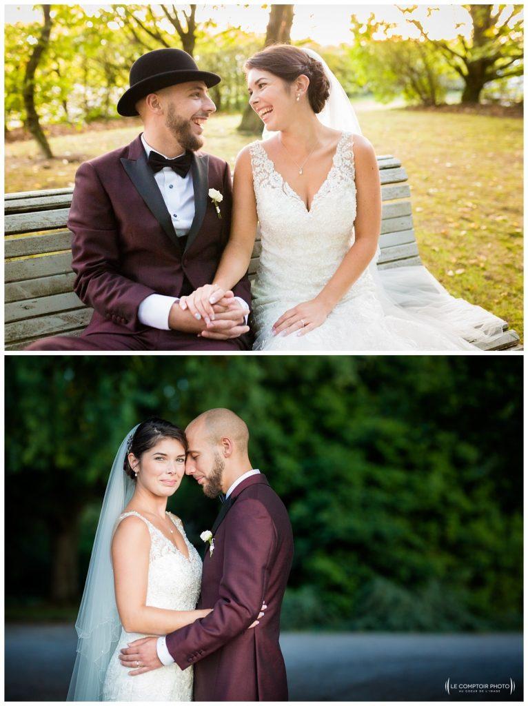 Reportage photo mariage à la Grange des Mollières dans les Yvelines-Photographe mariage Ile-de-France-paris-Oise-Le Comptoir Photo-séance portrait couple