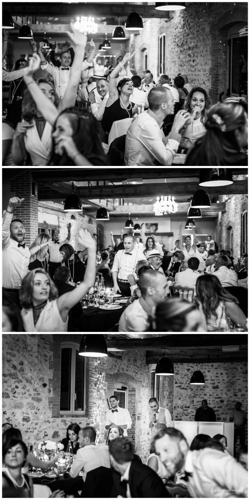 Reportage photo mariage à la Grange des Mollières dans les Yvelines-Photographe mariage Ile-de-France-paris-Oise-Le Comptoir Photo-jeu de soirée