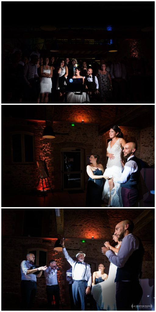 Reportage photo mariage à la Grange des Mollières dans les Yvelines-Photographe mariage Ile-de-France-paris-Oise-Le Comptoir Photo-