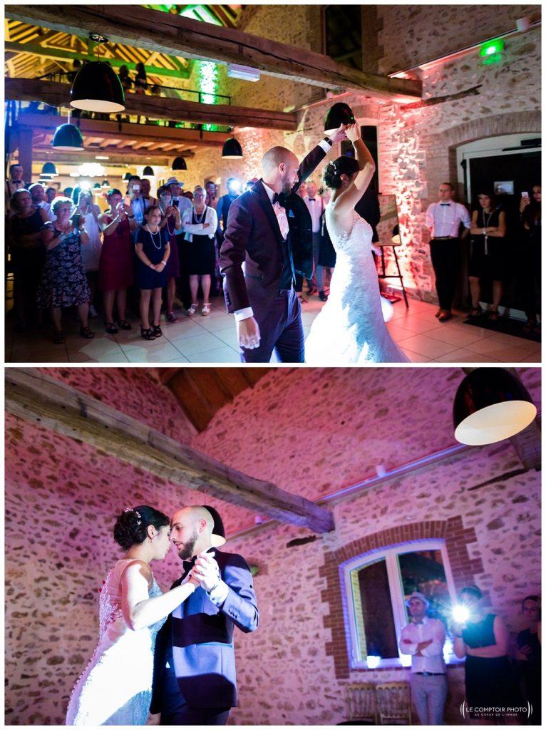 Reportage photo mariage à la Grange des Mollières dans les Yvelines-Photographe mariage Ile-de-France-paris-Oise-Le Comptoir Photo-première danse