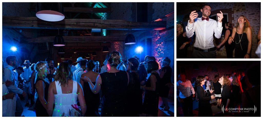 Reportage photo mariage à la Grange des Mollières dans les Yvelines-Photographe mariage Ile-de-France-paris-Oise-Le Comptoir Photo-danse des invités