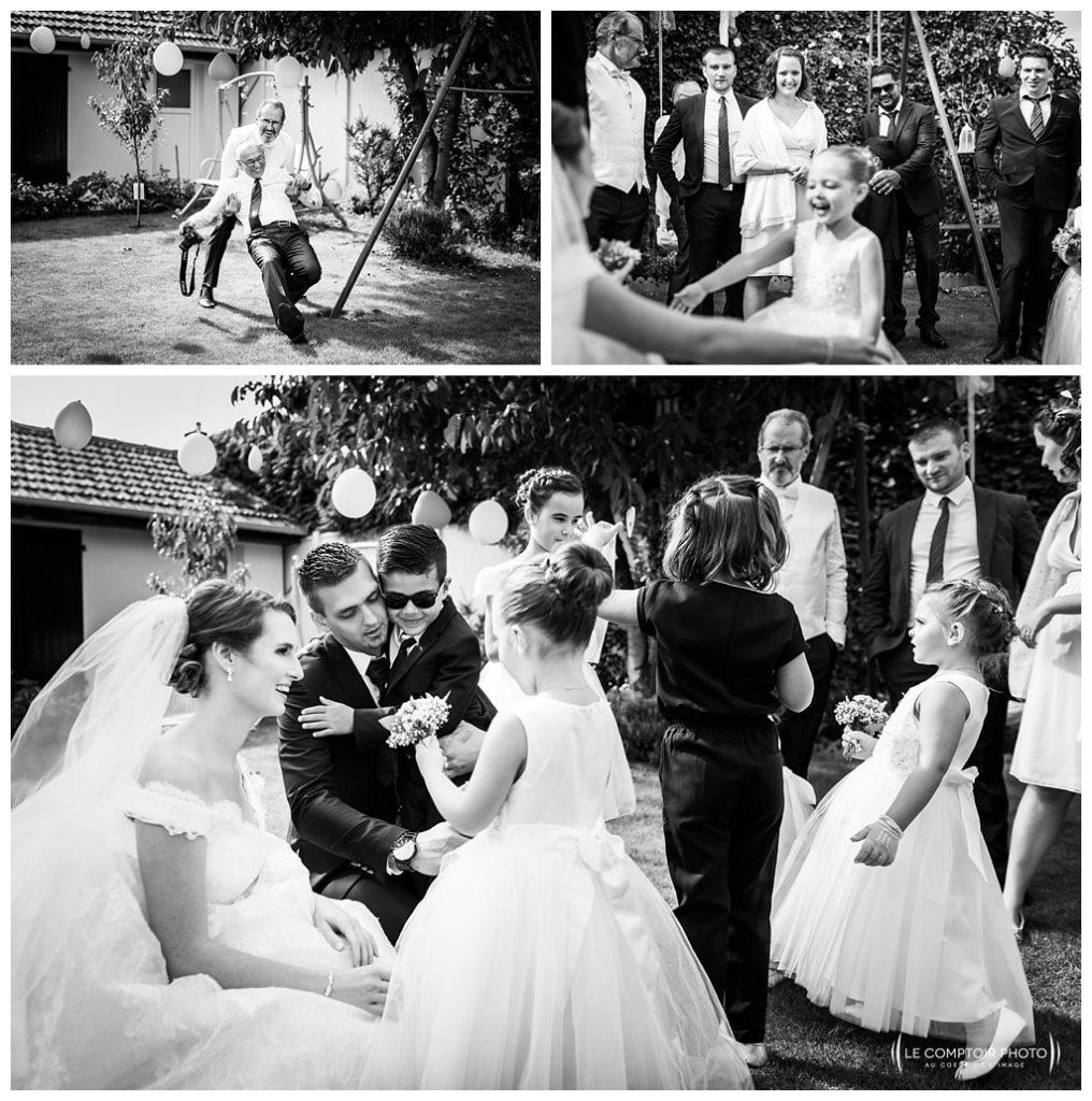 rire et sourire des invités-photographe mariage oise - beauvais