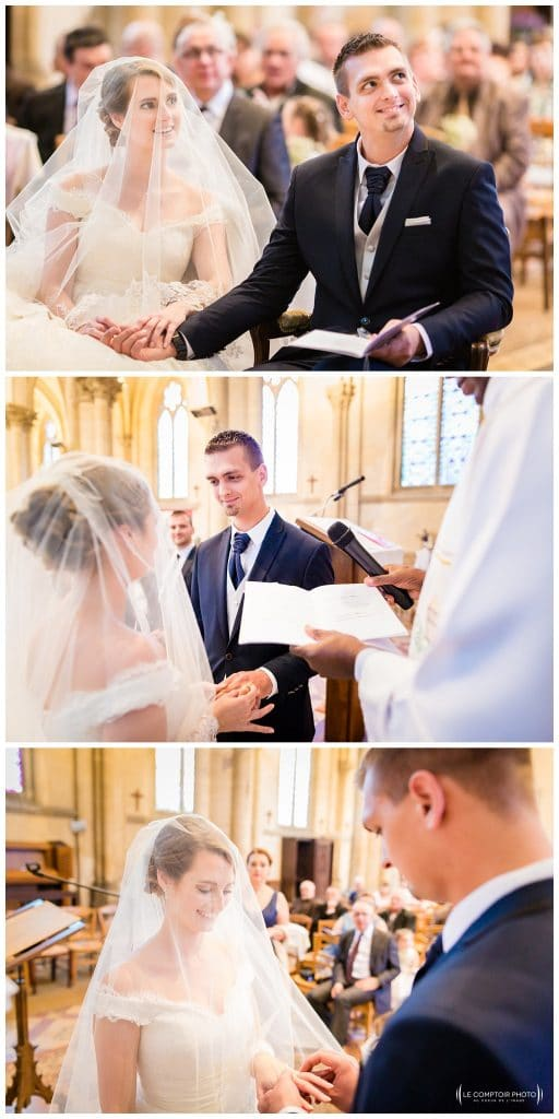 mariage dans l'église saint jacques-Beauvais-photographe beauvais-le comptoir photo