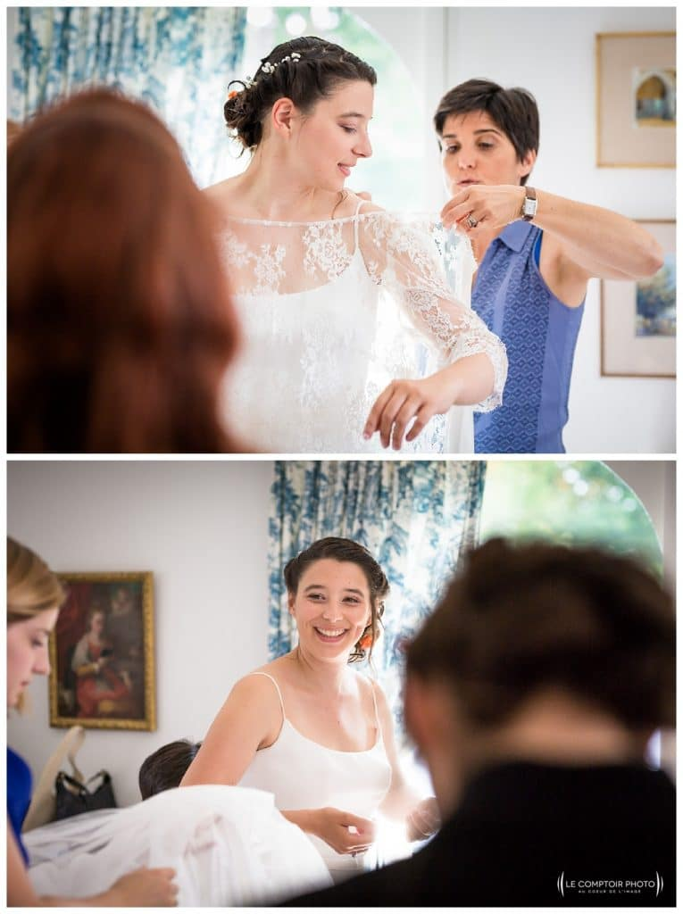 guetting ready-dress-maman-amies-témoins-reportage mariage-chateau guilguiffin-bretagne-wedding in brittany-finistere-photographe saint brieuc côtes d'armor-le comptoir photo
