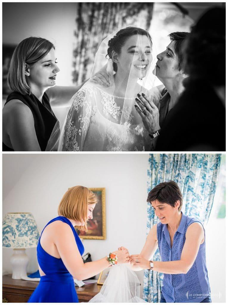 reportage mariage-chateau guilguiffin-bretagne-wedding in brittany-finistere-photographe saint brieuc côtes d'armor-le comptoir photo-guetting ready-embrassade