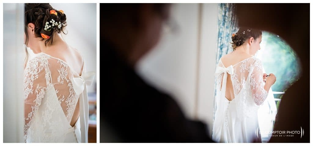 reportage mariage-chateau guilguiffin-bretagne-wedding in brittany-finistere-photographe saint brieuc côtes d'armor-le comptoir photo-guetting ready-dress-robe