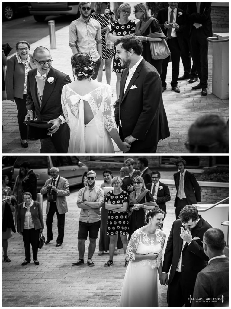 reportage mariage-chateau guilguiffin-bretagne-wedding in brittany-finistere-photographe saint brieuc côtes d'armor-le comptoir photo- rire-parents-invités