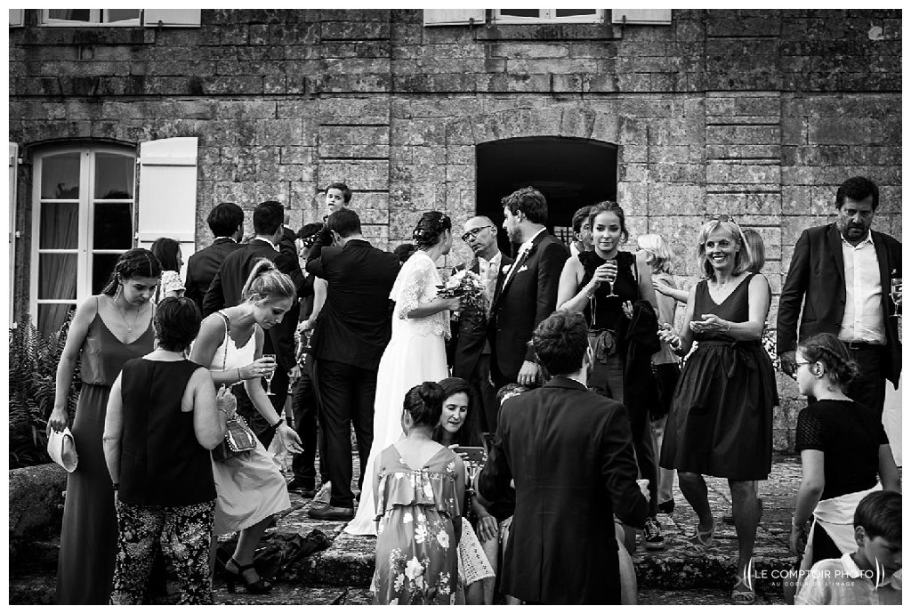 reportage mariage-chateau guilguiffin-bretagne-wedding in brittany-finistere-photographe saint brieuc côtes d'armor-le comptoir photo-groupe