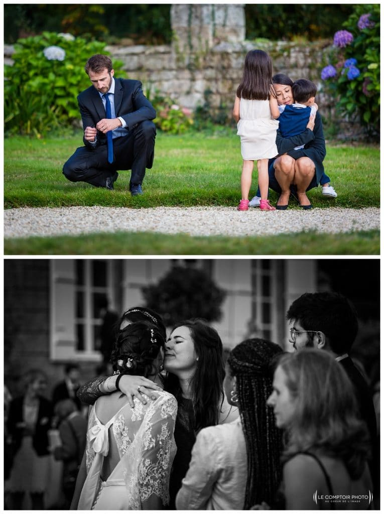 reportage mariage-chateau guilguiffin-bretagne-wedding in brittany-finistere-photographe saint brieuc côtes d'armor-le comptoir photo-cocktail-tendresse