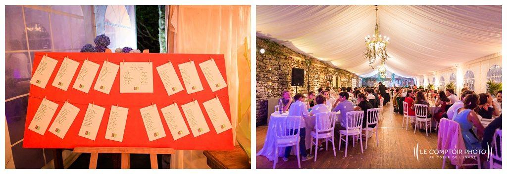 reportage mariage-chateau guilguiffin-bretagne-wedding in brittany-finistere-photographe saint brieuc côtes d'armor-le comptoir photo-salle-reception