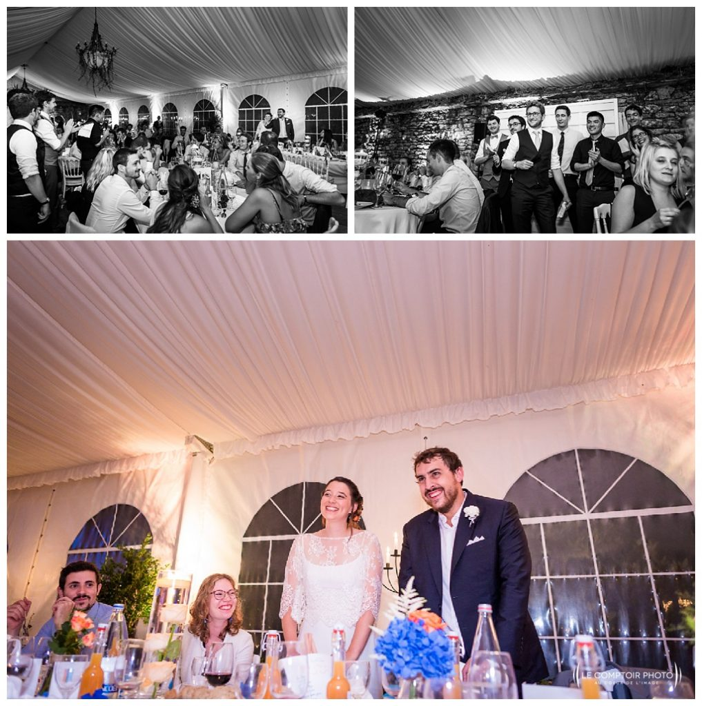 reportage mariage-chateau guilguiffin-bretagne-wedding in brittany-finistere-photographe saint brieuc côtes d'armor-le comptoir photo-discours-jeu-rire-emotion-naturel-mariés