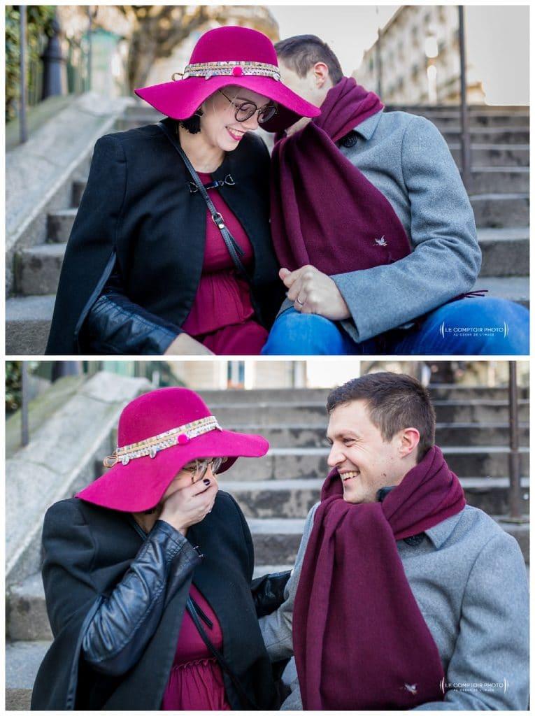 PORTRAIT couple grossesse-Paris-photographe grossesse paris beauvais oise saint brieuc-Le Comptoir Photo-13