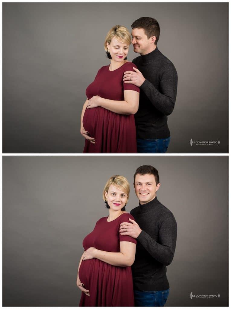 PORTRAIT couple grossesse-Paris-photographe grossesse paris beauvais oise saint brieuc-Le Comptoir Photo-41