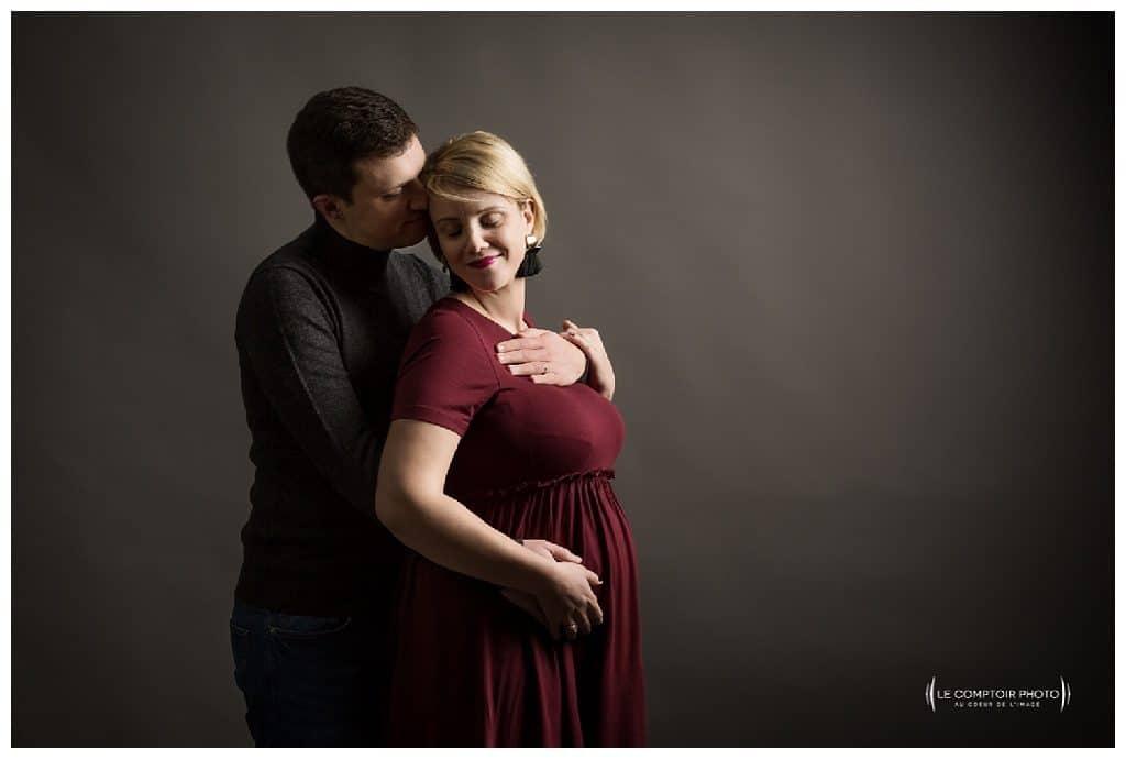 PORTRAIT couple grossesse-Paris-photographe grossesse paris beauvais oise saint brieuc-Le Comptoir Photo-52